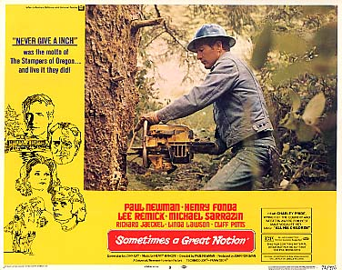 """Jim Wickre: MOVIE: """"Sometimes A Great Notion"""" (1971)*****"""