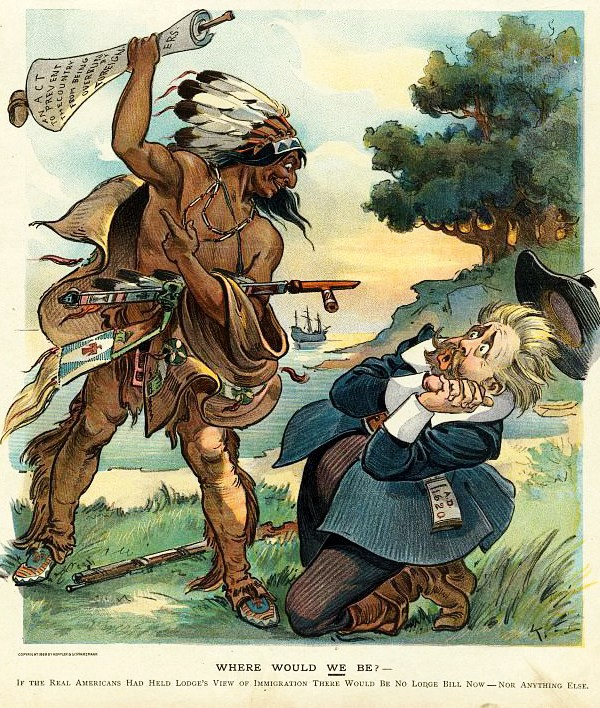 Political Cartoonists Seem Confused About Native Americans, Settlers, and Immigrants | by Peter Stanton | Medium